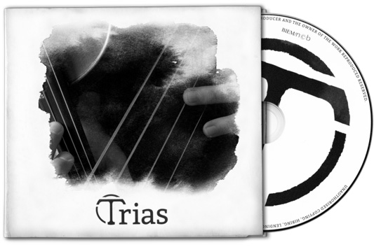 CD cover af Trias' debutalbum 'Trias'